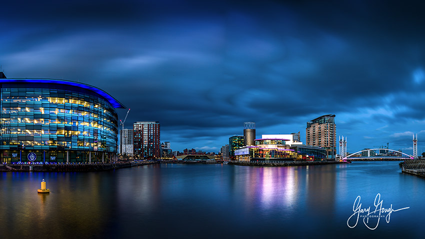 The Blue Hour Manchester Quays