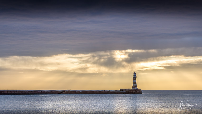 Roker Lighthouse Landscape Photography