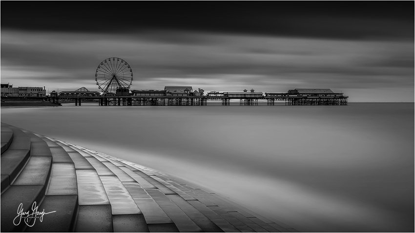 Blackpool Beach Landscape Photography