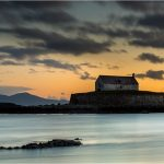 Landscape Photography Church in the Sea