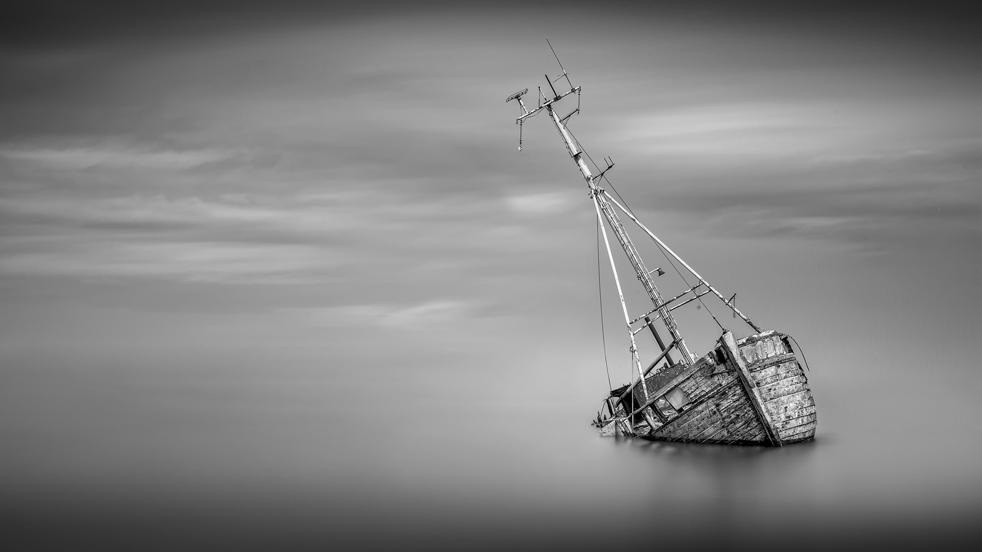 Pin Mill Boat Wrecks Landscape Photography