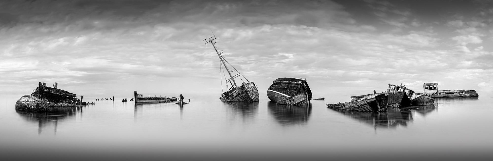 Pin Mill Boat Wrecks